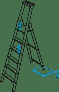 """Zarges Anforderung """"Dauerbelastung"""" bei Leitern"""