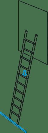 """Zarges Anforderung """"Holmfestigkeit"""" bei Leitern"""