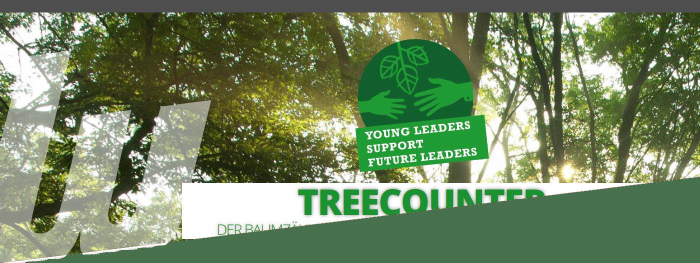 Treecounter der Baumzähler der Wirtschaftsjunioren