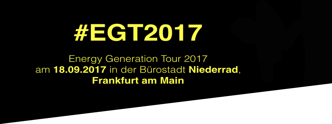 Energy Generation Tour 2017
