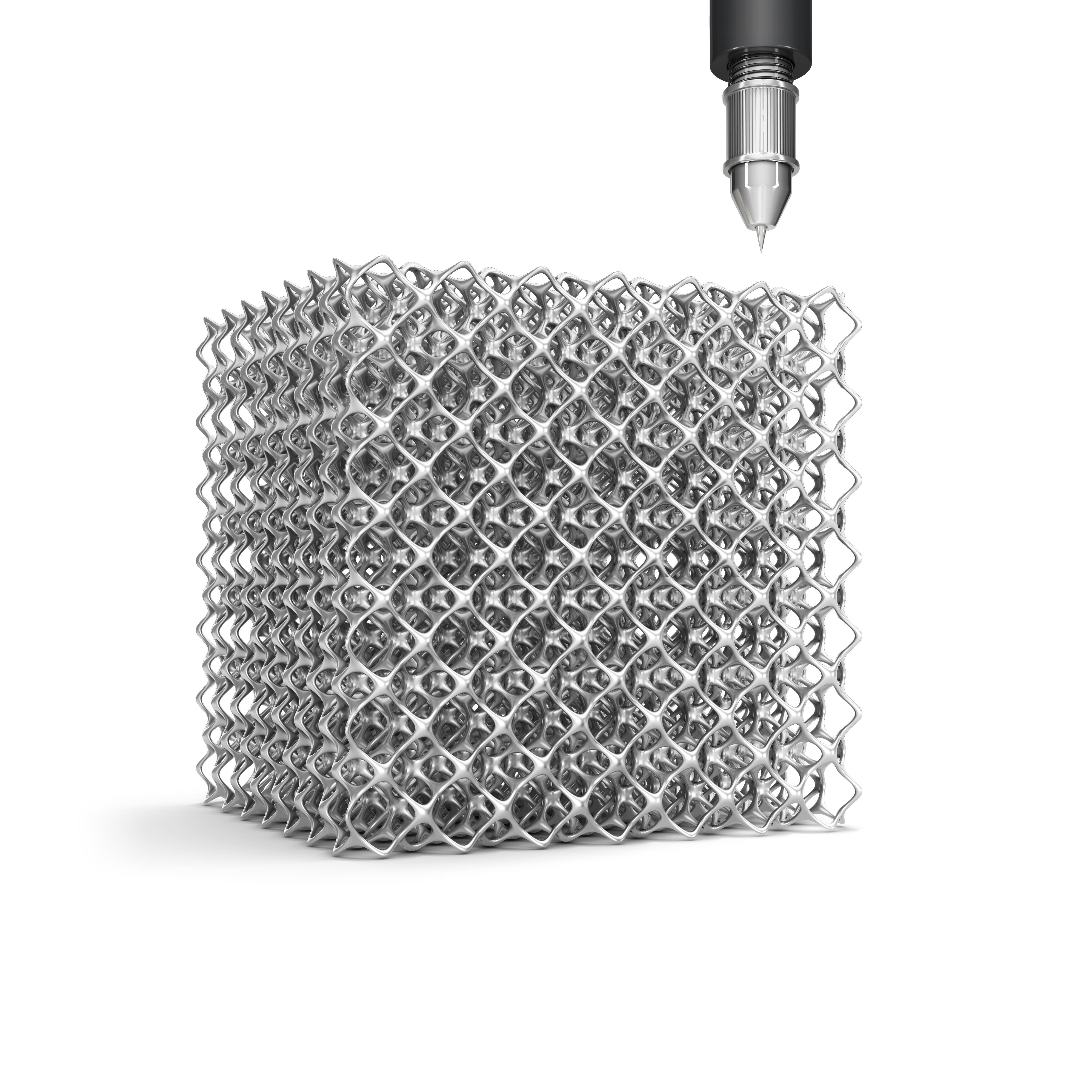 3D Gedrucktes Mikrogitter