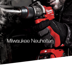 Milwaukee Neuheiten